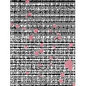 Renewal May 2015 Blog Train Mini Kit- Pink Paint Splat
