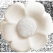 Renewal May 2015 Blog Train Mini Kit- White Flower Button