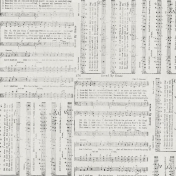 Reflections- Music Hymn Paper