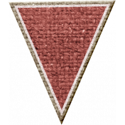 Rustic Charm Feb 2015 Blog Train Mini Kit- Pink Burlap Banner Piece