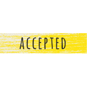 Reflections- Accepted Label
