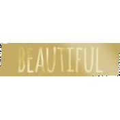 Shine- Gold Wordart- Beautiful