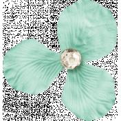 Shine- Little Teal Flower