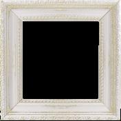 Shine- White and Gold Shabby Frame