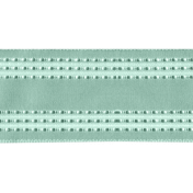 Shine- Teal Straight Ribbon