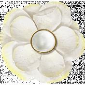Reflections- April 2015 Blog Train Mini Kit- White flower