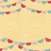 Birthday Wishes- Banner Paper with Words