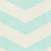 Birthday Wishes- Giant Blue Chevrons Paper
