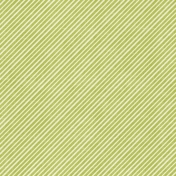 Birthday Wishes- Green Diagonal Stripe Paper