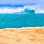 beach day paper