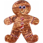 Gingerbread Man peppermint