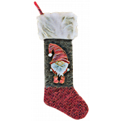 Christmas Gnome Stocking