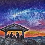 Christmas star paper