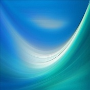 Blue swish paper