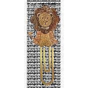Lion Paperclip