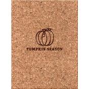 Cozy Day Journal Card- Pumpkin Season (3x4)
