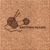Cozy Day Journal Card- Knitting Season (4x4)