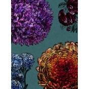 Cozy Day Journal Card- Dahlias (3x4)