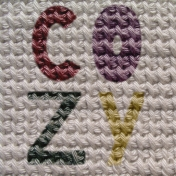 Cozy Day Journal Card- Cozy Knit (4x4)