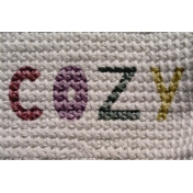 Cozy Day Journal Card- Cozy Knit (4x6)