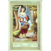 Vintage New Years Cards- Angel