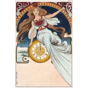 Vintage New Years Cards- Nouveau