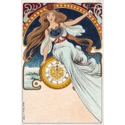 Vintage New Years Cards- Nouveau 2017