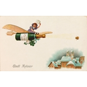 Vintage New Years Cards- Champlane