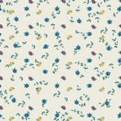The Best Is Yet To Come 2017- Cream Floral Paper