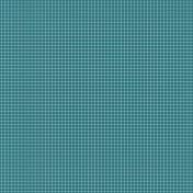 The Best Is Yet To Come 2017- Pattern Paper- Grid White on Teal
