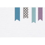 The Best Is Yet To Come 2017- Journal Card Ribbons