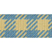 The Best Is Yet To Come 2017 Trims- Thin Blue and Yellow Twill Ribbon