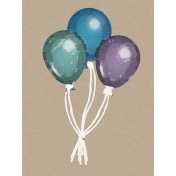 The Best Is Yet To Come 2017- Journal Card Balloons