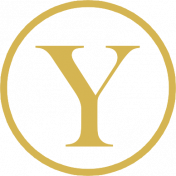 The Best Is Yet To Come 2017- Monogram Letter Y