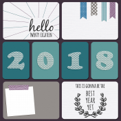 The Best Is Yet To Come- Pocket Quick Pages #2 with 2018