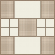In The Pocket Sampler- Pocket Page Basics Template- Square R1