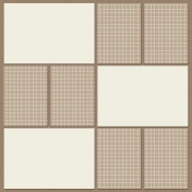 Pocket Page Template - Square C1