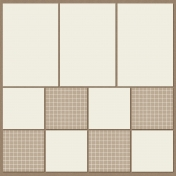 Pocket Page Template- Square O