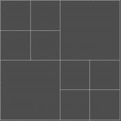 Tidy Pocket Page Stitches- Square Template M- Cream