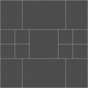 Tidy Pocket Page Stitches- Square Template R- Cream