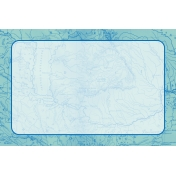 Pocket Basics 2 Classic Journal Card Templates- Layered Template- Map