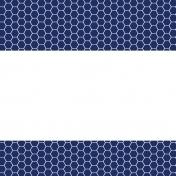 Pocket Basics 2 Minimalist Journal Card Templates- Layered Template- Double Pattern Border 4x4
