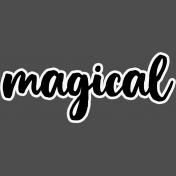 Pocket Basics 2 Classic Journal Card Templates- Layered Template- Magical 2