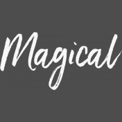 Pocket Basics 2- Pocket Titles- Template- Magical 4