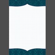 Pocket Basics 2 Classic Journal Card- Layered Template- Bracket (4x6) Vertical