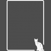 Pocket Basics 2 Photo Overlays- Cat 3x4