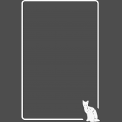 Pocket Basics 2 Photo Overlays- Cat 4x6
