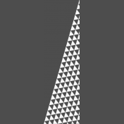 Pocket Basics 2 Photo Overlays- Triangle Border 3x4