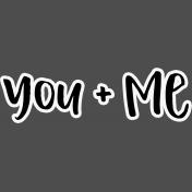 Pocket Basics 2- Pocket Titles- Layered Template- You + Me 2