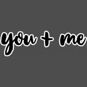 Pocket Basics 2- Pocket Titles- Layered Template- You + Me 4
